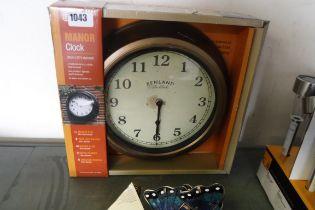 32cm (12'') outdoor garden clock