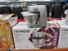 (9) Kenwood multi purpose mixer