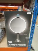 Simple Human sensor mirror Looks in good condition, used