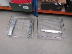 Kitchen shelving rack