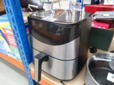 Gourmia digital air fryer, unboxed