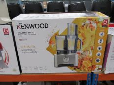 Kenwood Multi Pro XL food processor