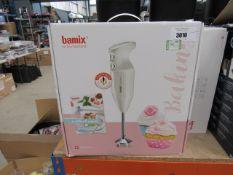 (66) Bamix food processor
