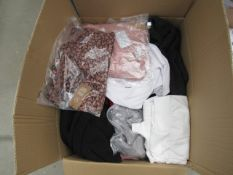 2 boxes of assorted clothes
