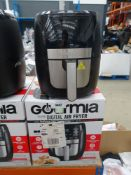 (1) Gourmia digital air fryer
