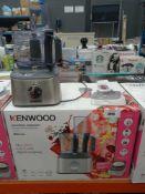 (5) Kenwood Multi Pro compact food processor