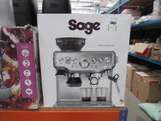 (67) Saga Barista coffee machine