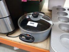 Magneto saucepan and lid
