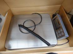 Set of heavy duty postal scales