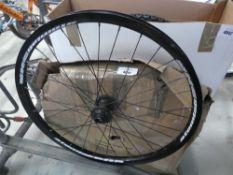 Pair of Atomlab DHR bike wheels