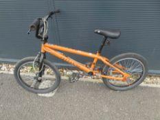 Orange Nucleus BMX