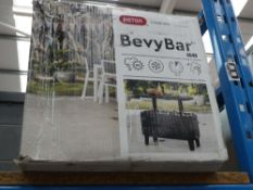 Boxed Keter Bevvy bar