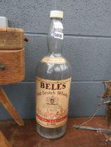 Large Bells whisky bottle