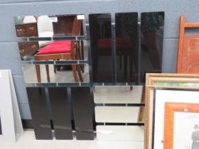 5063 - Multi panelled mirror