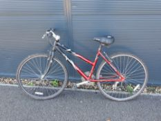Ammaco black and red mountain bike