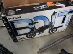 Boxed Jetson electric bike no charger