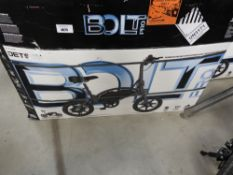 Boxed Jetson electric bike with charger