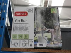Keter boxed Go-Bar