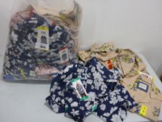 Bag containing ladies tops by Jackson New York, to include various colours, patterns and sizes