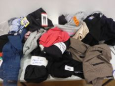 Bag of ladies clothing to include trousers, jeans, fleece tops etc