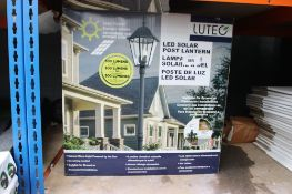 Boxed LED solar lantern