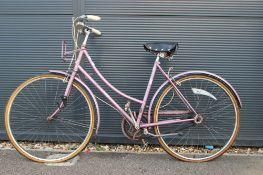 Pink Caprice ladies bike