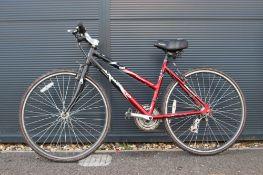 4033 - Amaco red and black mountain bike
