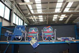 4x Tommy Bahama beach chairs