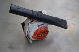 Stihl BG86 petrol powered leaf blower