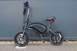 Jetson electric bike with charger