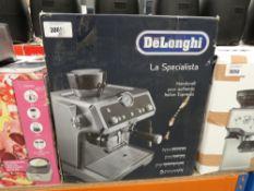 De'Longhi hand craft Italian espresso coffee machine