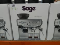 (TN33) Sage Barista Express coffee machine