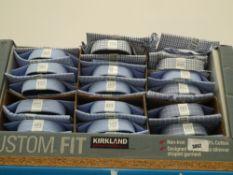 Approx. 35 mixed design Kirkland shirts, various size