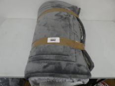 Charisma Bath Collection grey bathmat, tagged