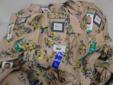 Bag containing a number of Jach's Girlfriend ladies blouses in blush, various sizes all tagged