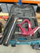 4447 Torque wrench, nailer and a toolbox