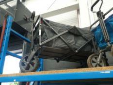4 wheeled fold up trolley