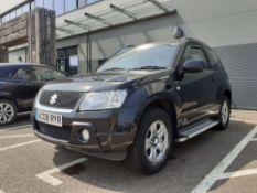 AC08 RYR (2008) first registered 14.04.2008, Suzuki Grand Vitara VVT, petrol, 1586cc, in black, V5