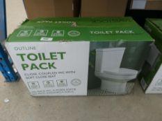 Boxed Tavistock toilet pan and cistern