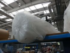 Thin roll of bubble wrap