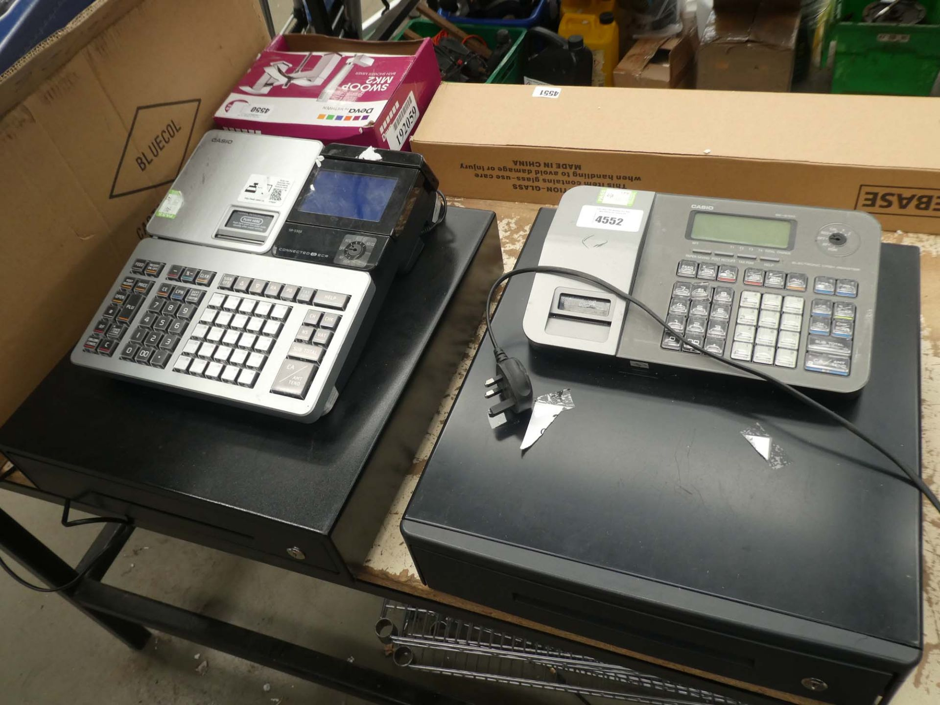 2 Casio cash registers
