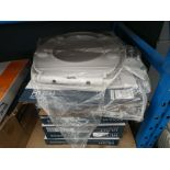 7 boxed and 1 unboxed Tavistock toilet seats