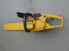 Alpina petrol powered chainsaw