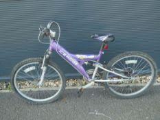 Ice Ridge purple child's cycle