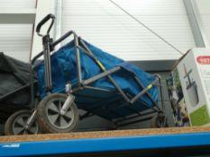 4 wheel fold up trolley