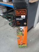4056 Black & Decker boxed strimmer