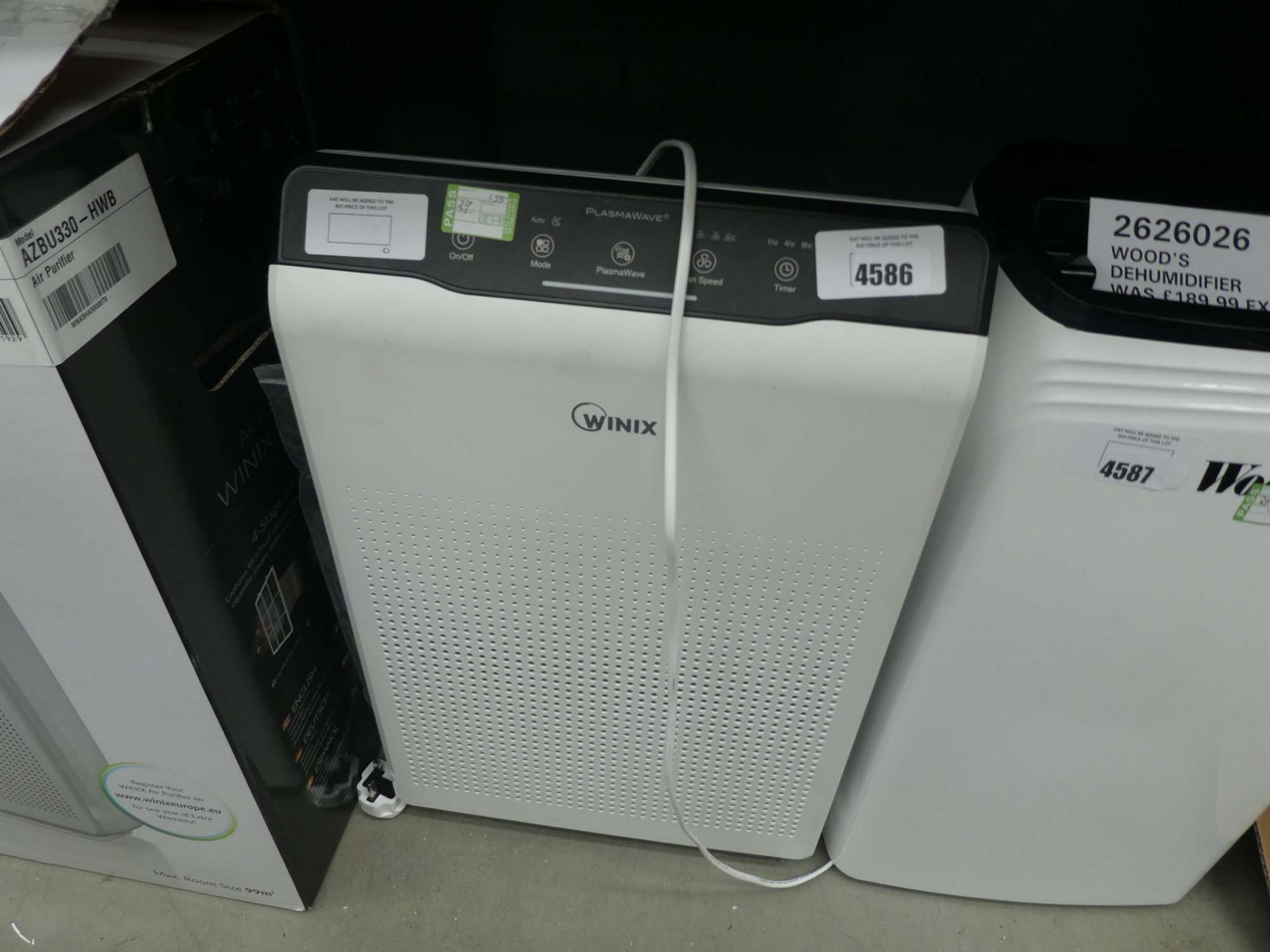 Unboxed winix air purifier