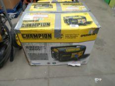 Boxed Champion petrol powered generator
