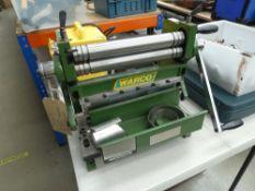3 in 1 roller break press/guillotine