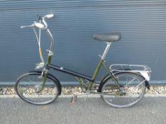 Black shopper style cycle